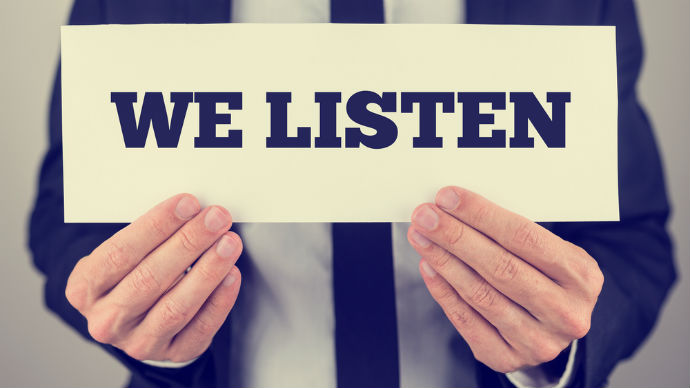 lắng nghe khách hàng đúng cách